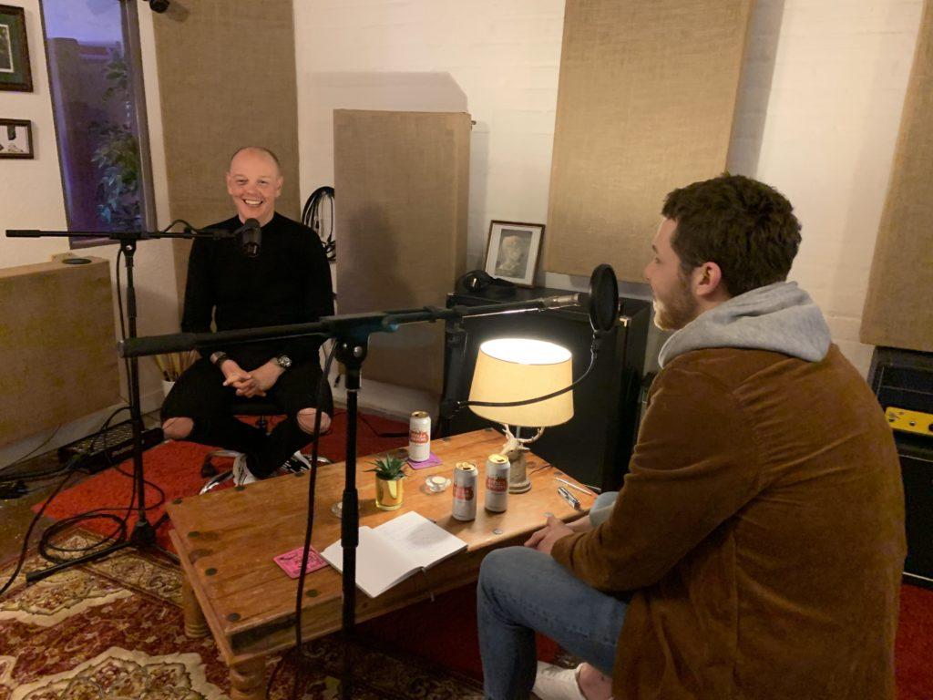 Herd Marketing Podcast Recording