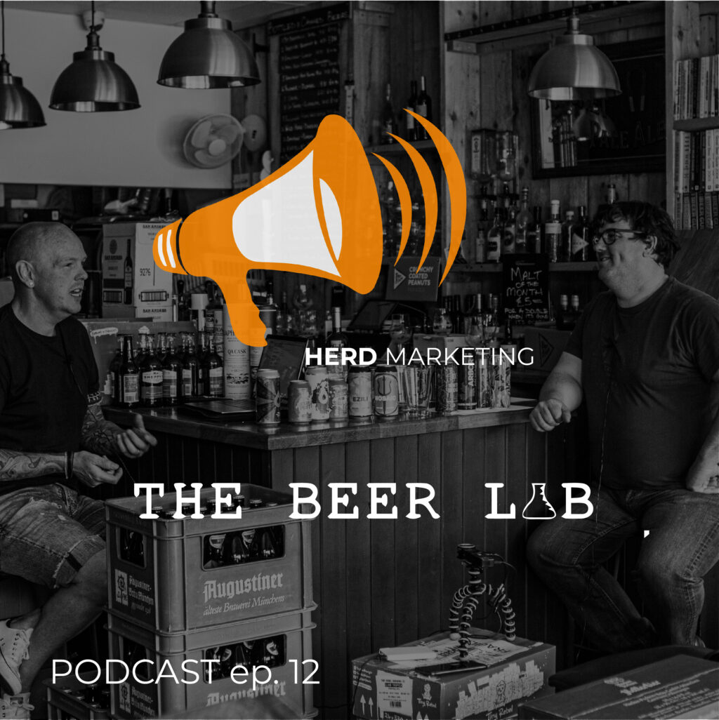The Beer Lab Podcast Cover Pic