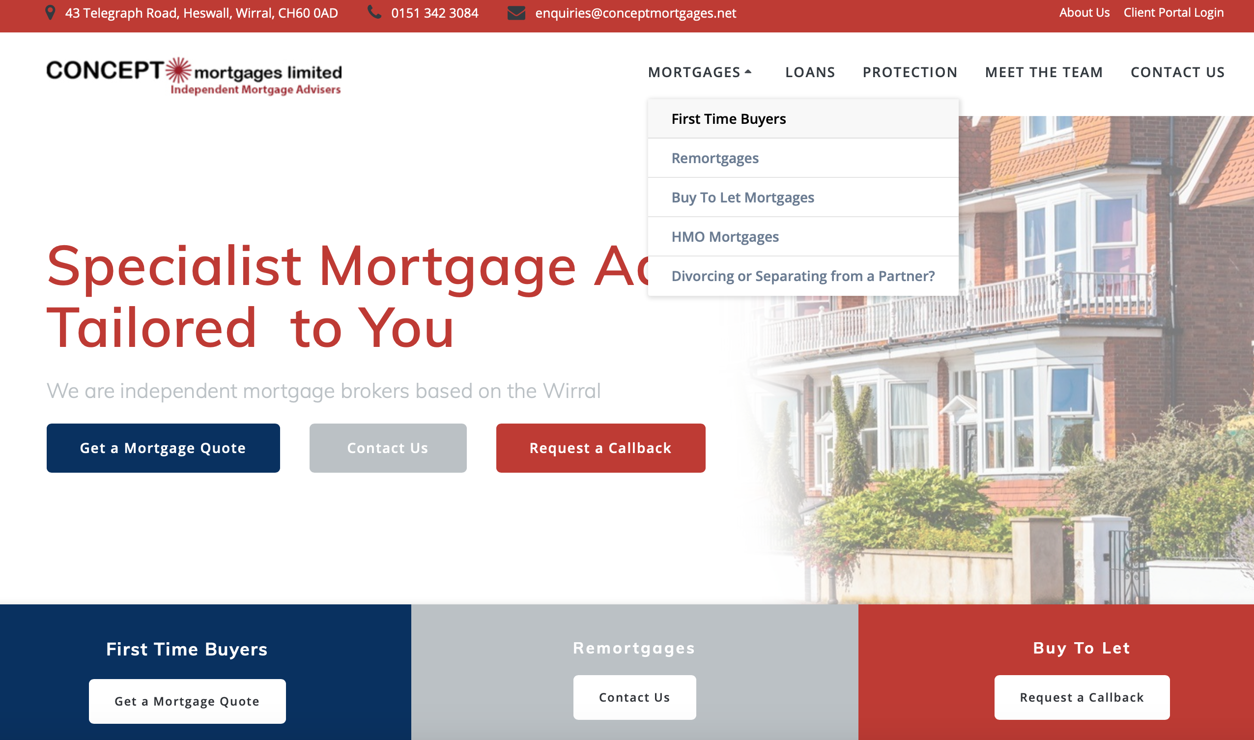 Concept Mortgage Screenshot