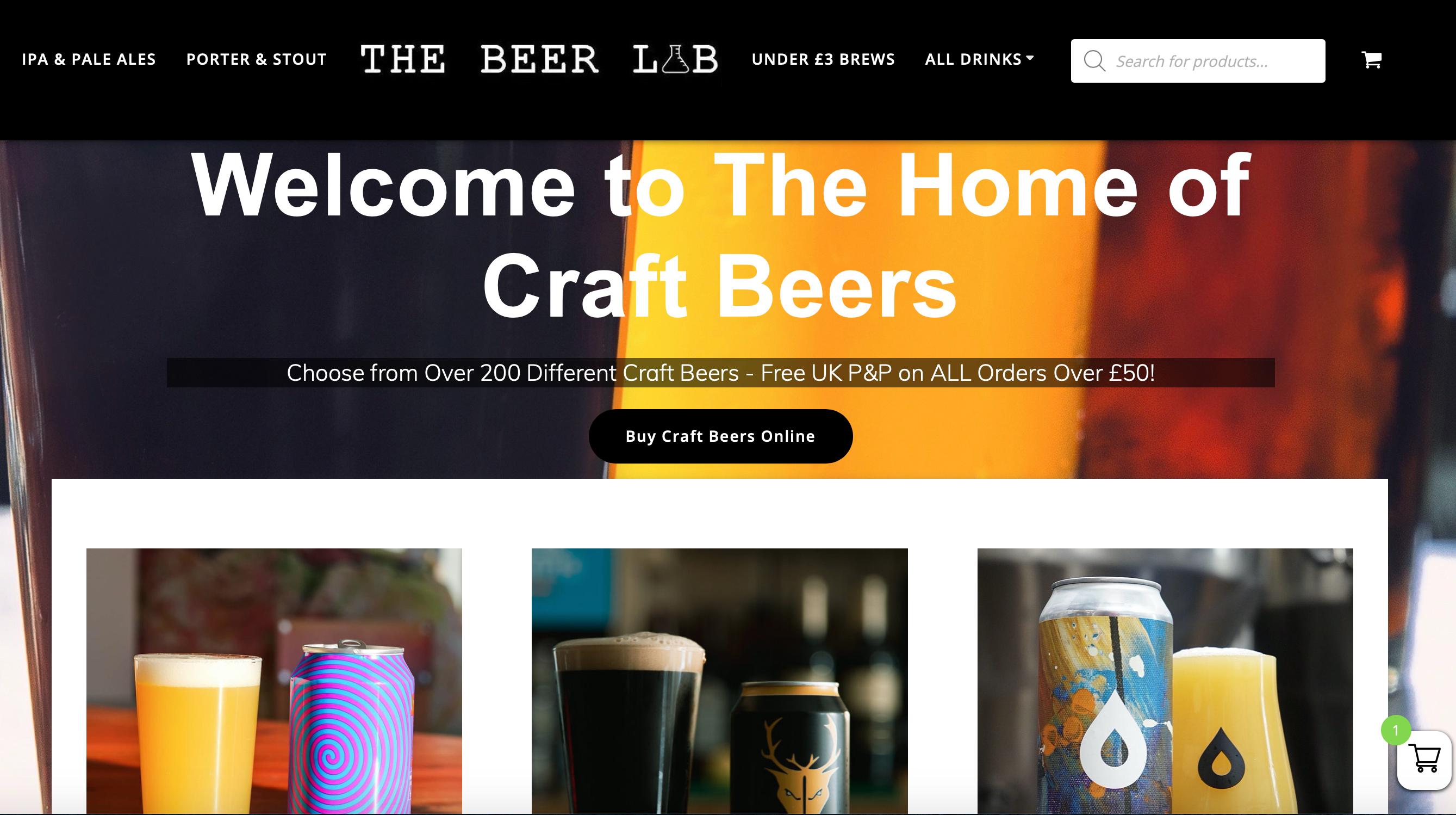 The Beer Lab Screenshot